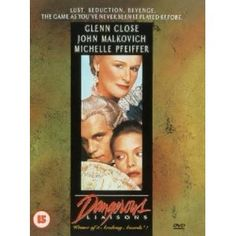 Dangerous Liaisons [1988] From the costumes to the acting, this film is just perfect, loved it!