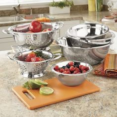 6-Piece Stainless Steel Bowl Set from Montgomery Ward® | SW47108