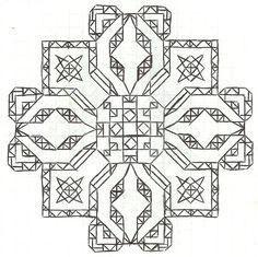 Graph paper art Jan 21 by estabane.deviantart.com on @deviantART