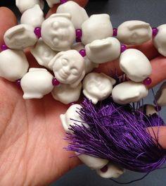 Japa Mala Prayer Beads for praying  chanting by TERRACOTTADESIGN34