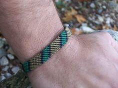Men's stripped bracelet - handmade men's bracelet, macrame bracelet, knotted men's bracelet!!