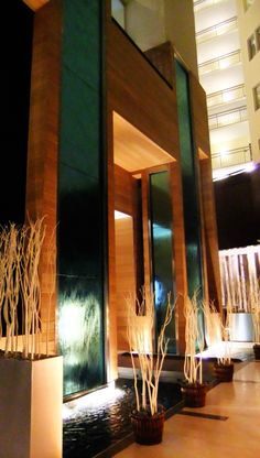 lobby water feature - Google Search