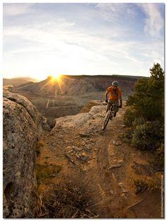 Evening ride. #mountainbike #mtb shelbymeinkeyphoto.com