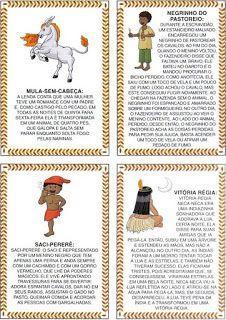 ESPAÇO EDUCAR: Jogo da Memória de Lendas do Folclore Brasileiro!                                                                                                                                                      Mais