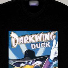 Darkwing Duck Cartoon Hero Ducktales T Shirt
