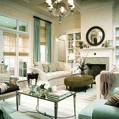 Glamorous Interiors: Beautiful living rooms