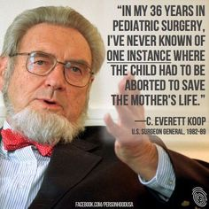 So in 36 years this doctor has never treated an ectopic pregnancy? I'm NOT a proponent of abortion, but where is the common sense?!?