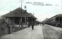 https://flic.kr/p/dJDMg8 | Photoette 10565. Union Station. Lansing, Mich.