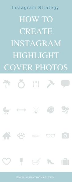How to make instagram stories highlight icons for free icons how to create instagram highlight cover photos ccuart Images