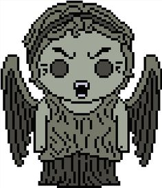 Looking for your next project? You're going to love Doctor Who: Weeping Angel by designer Shylah Addante.