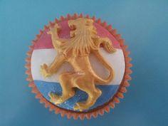 Dutch theme cupcake