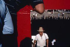 MEXICO. Leon. 1987. Bullfight stadium. by Alex Webb