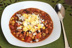 Skinny Vegetarian MexicanChili