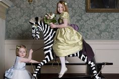 Incredible rocking horses by the Stevenson brothers - amazing zebra!