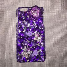 iPhone 6 Plus SparkleCase Beautiful blinged out case with purple plastic stones and flower accent! Will catch everyone's attention!!! Fits iPhone 6 Plus. NWOT Accessories Phone Cases