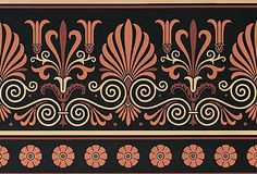 Victorian Home Design   Greek Wallpaper Frieze   Bradbury