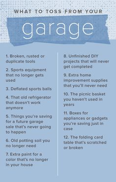 These Garage Organization Ideas Will Help You Create More Storage And  Declutter On A Budget.