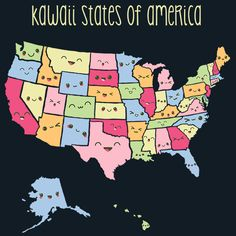 Kawaii States of America T-Shirt