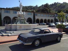 1960 Facel-Vega Facellia out for a drive, Malaga Cove, Palos Verdes.