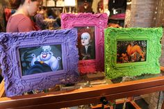 Disney Villains Portraits at Vault 28 by Loren Javier, via Flickr