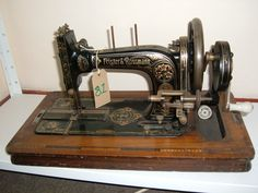 Frister and Rossmann Sewing Machines Antique