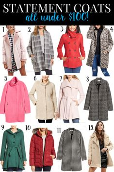 statement coats under $100 #coats #fashion #InspirationSpotlight High Fashion, Winter Fashion, Womens Fashion, Cozy Winter Outfits, Editorial Fashion, Fashion Trends, Outfit Of The Day, Fashion Dresses, Coats