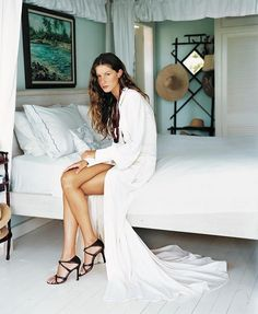 Gisele for Vogue magazine