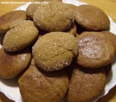 Homemade Ginger Cookies | Amish Recipes Oasis Newsfeatures