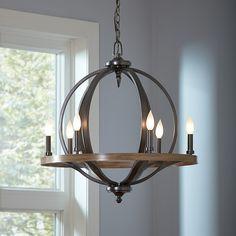 Birch Lane Brayden 6 Light Candle-Style Chandelier & Reviews | Wayfair