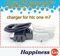 Find More Chargers & Docks Information about Free shipping AU plug Wall Charger +micro USB data Sync Mobile phone Cable For HTC one m7 m8 one,High Quality phone slips,China cable home phone Suppliers, Cheap phone usb cable from Happiness go on Aliexpress.com