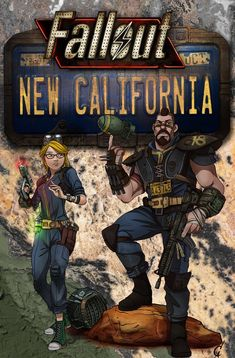 Fallout: New California adds an all new story around a new player character, an adopted resident of Vault embarking on a journey through the wastelands of the New California Republic's Cajon Pass. An unofficial prequel to New Vegas, FPB adds hours. Fallout Theme, Fallout Fan Art, Fallout Concept Art, Fallout Cosplay, Post Apocalyptic Art, Vault Tec, Bethesda Games, Fallout New Vegas, Fall Out 4