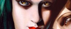 """Tamara de Lempicka. My favorite painting: """"Portrait of Mrs. Boucard"""", seen in Montreal in 1991..view on this site: delempicka.org"""