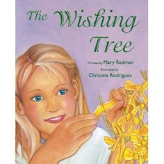 "The main character struggles with her Dad's deployment and makes a ""wishing tree"" where she can write her dreams, hopes and worries.  A great strategy for kids to use."