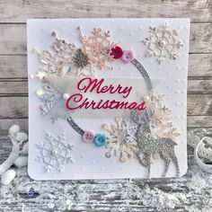 Winter Wishes Christmas Card | Craft Inspiration