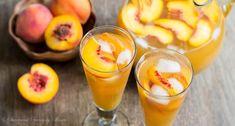 Peach+Iced+Tea+via+@shineshka