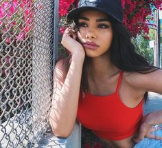 The Real Gentlemen's Club Photographer: Mae Duarte Model: Naressa Valdez Bild Outfits, Cute Outfits, White Nike Hat, Pretty People, Beautiful People, Naressa Valdez, Tmblr Girl, Foto Casual, Tumblr Outfits
