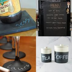 Things to do with chalkboard paint