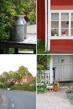 swedish country --- those milk urns are long gone by now ...