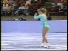 Tonya Harding's Triple Axel First Ever American Lady - the commentators' reactions just make the video... :)