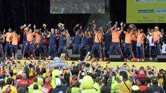 La alegría, el baile y la unión, todos son valores natos de la #SelecciónColombia