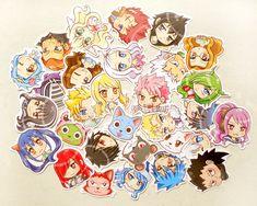 Fairy Tail Sticker. Anime Stickers. Kawaii Sticker. Laptop Sticker. Waterproof Sticker. Scrapbooking Supply. Party Favors. Geekery Gifts. · BeagleCakesArt · Online Store Powered by Storenvy