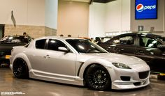 I don't normally like the RX-8 but this one is lookin' good! Seen @ Spocom Anaheim