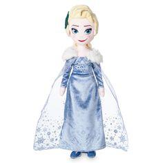 Disney Store Elsa Plush Doll - Olaf's Frozen Adventure - Medium - New with Tag Frozen Dolls, Olaf Frozen, Disney Frozen, Disney Plush, Disney Toys, Anna Und Elsa, Disney Surprise, Disney Stuffed Animals, Toddler Girl Gifts