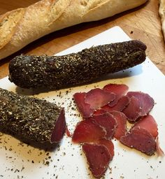 Home Cured Pork Tenderloin Salumi - North Country Rambler Homemade Sausage Recipes, Smoked Meat Recipes, Pork Recipes, Cooking Recipes, Recipies, Pork Tenderloin Sandwich, Pork Tenderloin Recipes, Pork Loin, Specialty Meats