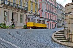 https://flic.kr/p/iUsEgy   Legendary 28 tram in Lisbon   Portugal, Lisbon