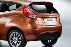 2013 New Ford Fiesta Rear Angle HD