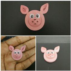 Quilling pig