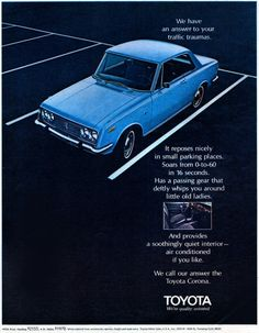 Toyota Motor Sales USA Inc, 1970