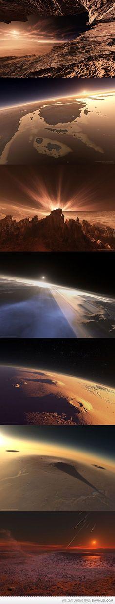 Surface pics of Mars
