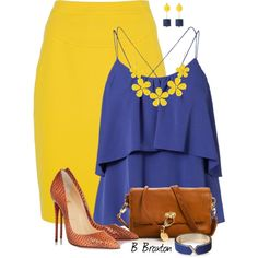 A fashion look from July 2014 featuring Vero Moda tops, Dsquared2 skirts and Christian Louboutin pumps. Browse and shop related looks.